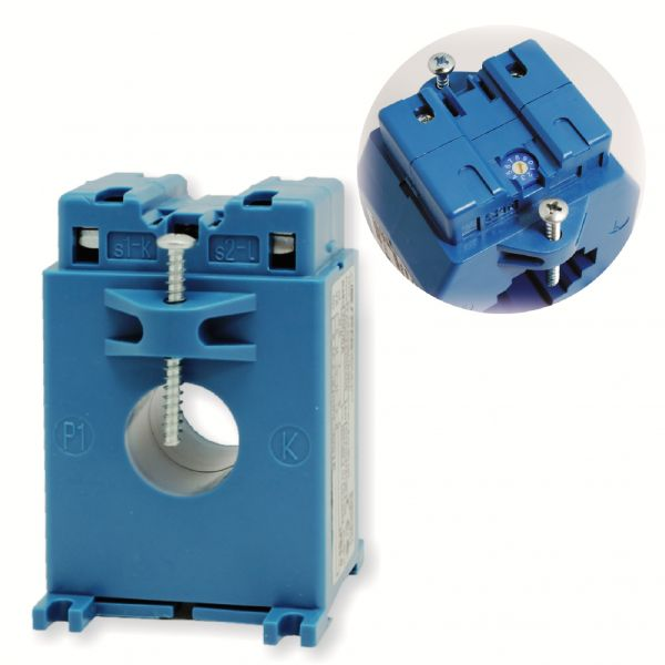 CURRENT TRANSFORMERS WITH INTEGRATED TRANSDUCER
